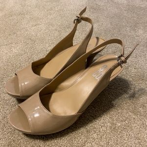 Nine & Co. nude heels